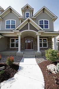 Storybook House Plan With 4 Car Garage - 73343HS thumb - 02