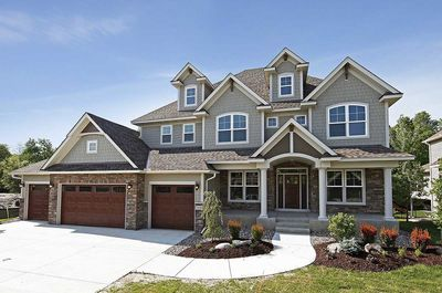Storybook House Plan With 4 Car Garage - 73343HS thumb - 01