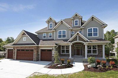 Storybook house plan with 4 car garage 73343hs for 4 car tandem garage house plans
