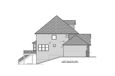 Storybook House Plan With 4 Car Garage - 73343HS thumb - 47