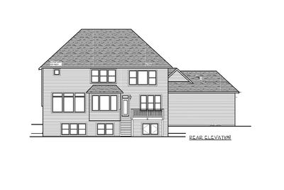 Storybook House Plan With 4 Car Garage - 73343HS thumb - 48