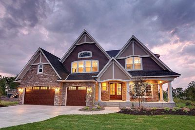 Storybook House Plan With Open Floor Plan 73354hs Architectural