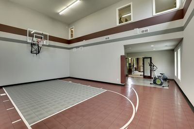 Big Daddy Sport Court House Plan   73356HS Thumb   49