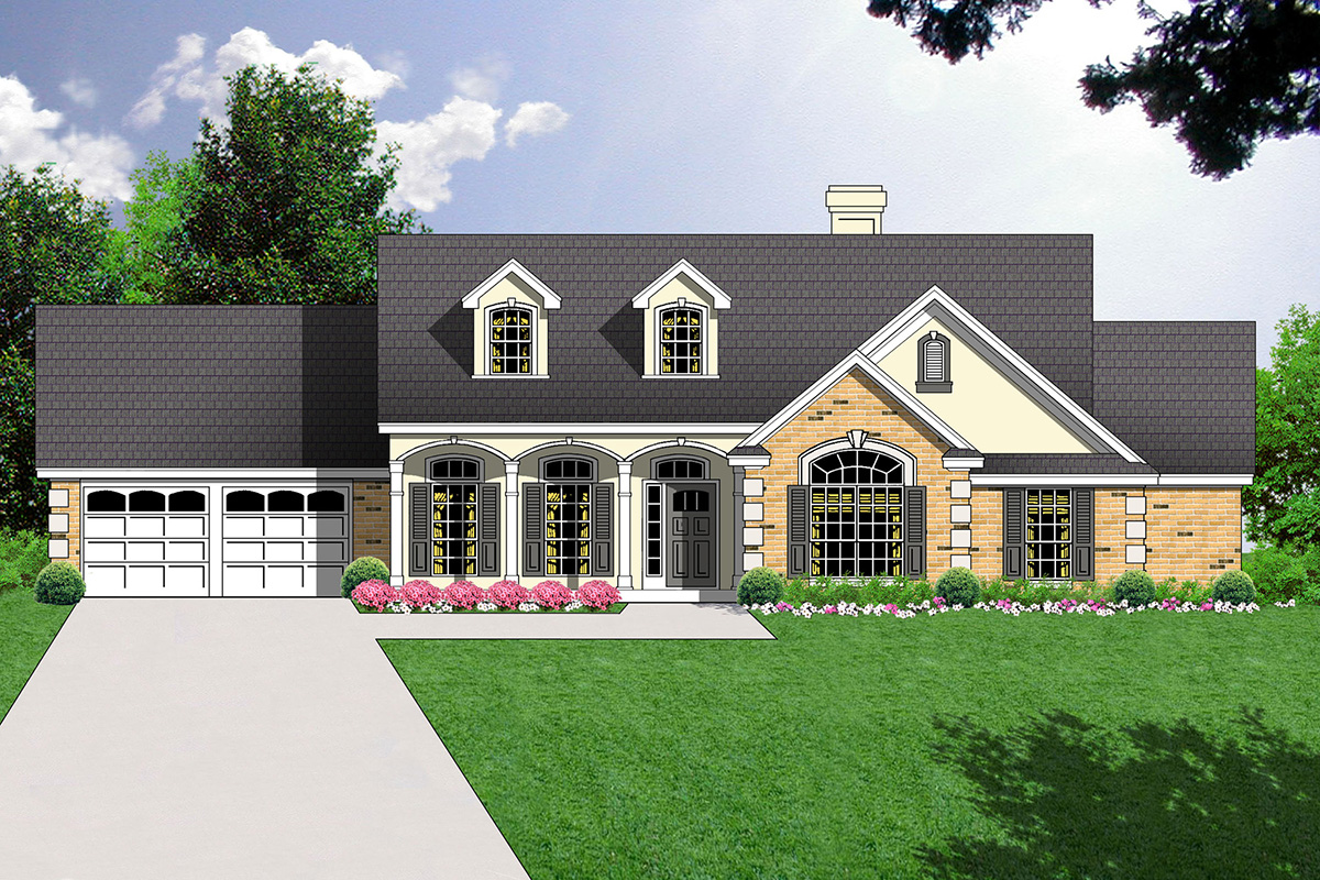 Special master suite 7418rd architectural designs for Special house plans