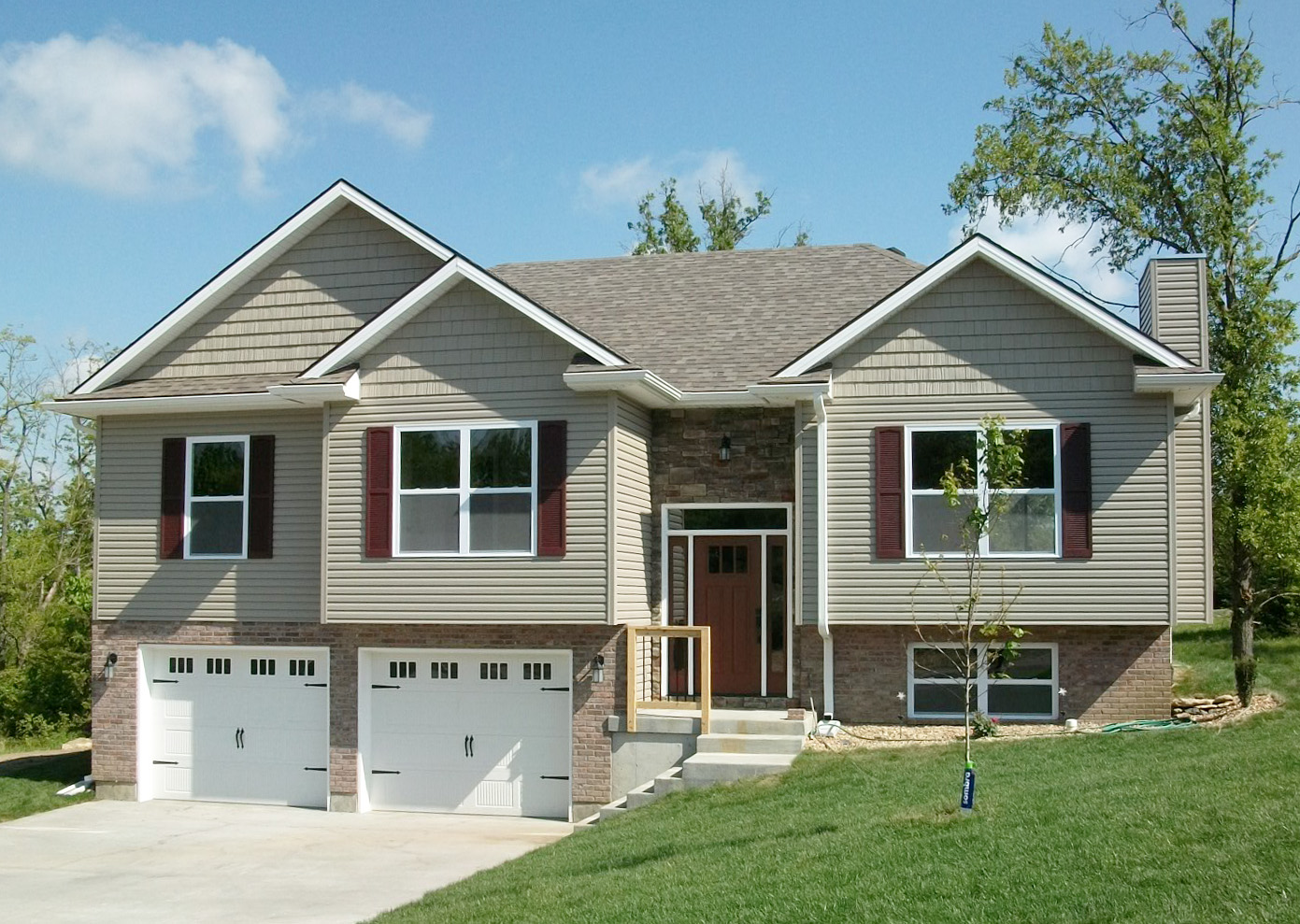 split level house designs attractive split level home plan 75005dd 1st floor 22146