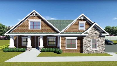 Flexible Plan With Front-to-Back Foyer - 75400GB thumb - 01