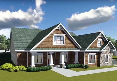 Flexible Plan With Front-to-Back Foyer - 75400GB thumb - 02