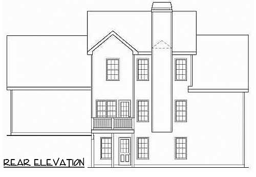 2 Story Master Down Home Plan 75402gb 1st Floor Master
