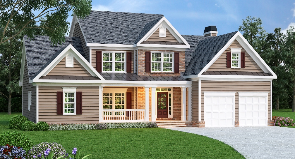 2 story home plan with expansion possibilities 75435gb media rooms house plans and craftsman on pinterest