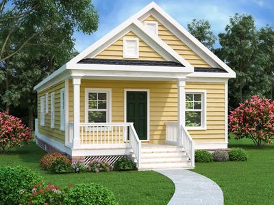 Darling Bungalow House Plan - 75470GB thumb - 01