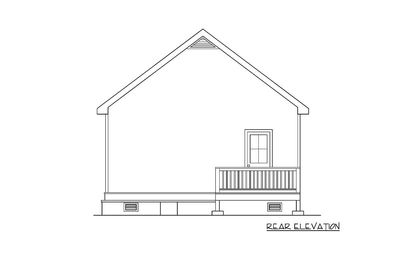 Darling Bungalow House Plan - 75470GB thumb - 02