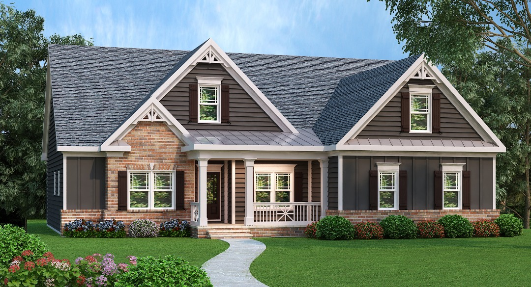 Popular Traditional Home Plan - 75485GB