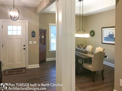 House Plan 75485GB comes to life in North Carolina - photo 003