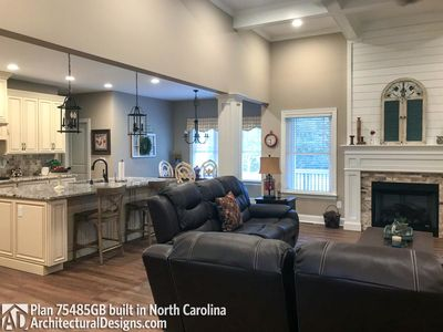 House Plan 75485GB comes to life in North Carolina - photo 006