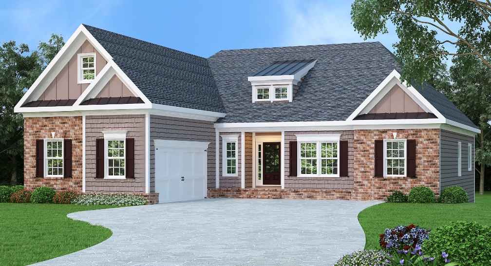 3 bed home with large family room 75488gb for House plans under 100k