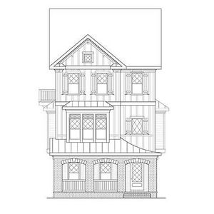 Gingerbread trim for a sloping lot 75551gb for Architectural gingerbread trim