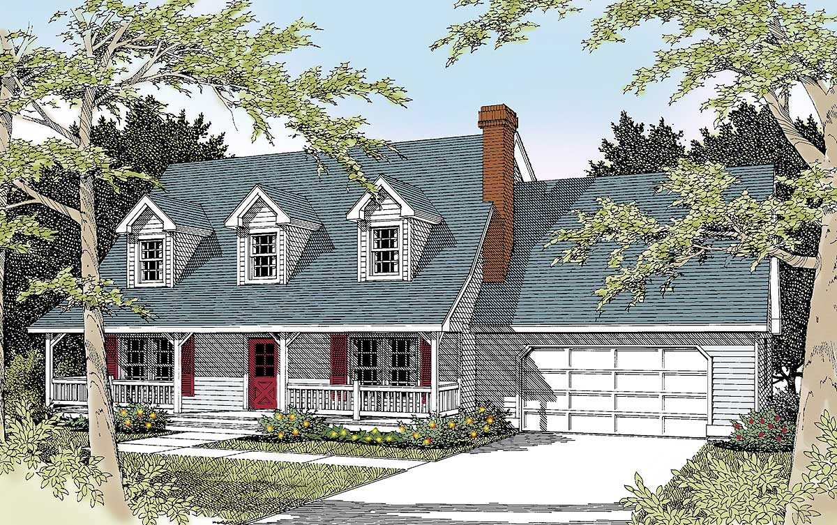 Option for two master suites 7579dd architectural for House plans with three master suites