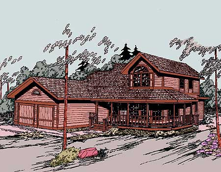 Old Style Country Home 77143ld Architectural Designs