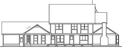 Large Victorian Home Plan - 7847LD thumb - 02