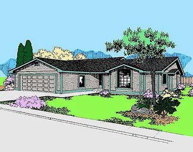 Contemporary Ranch 7865ld Architectural Designs
