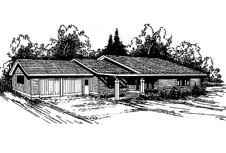 Angled entry 7936ld architectural designs house plans for Angled entry house plans