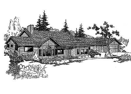 Northwest design 7949ld architectural designs house for Northwest style house plans
