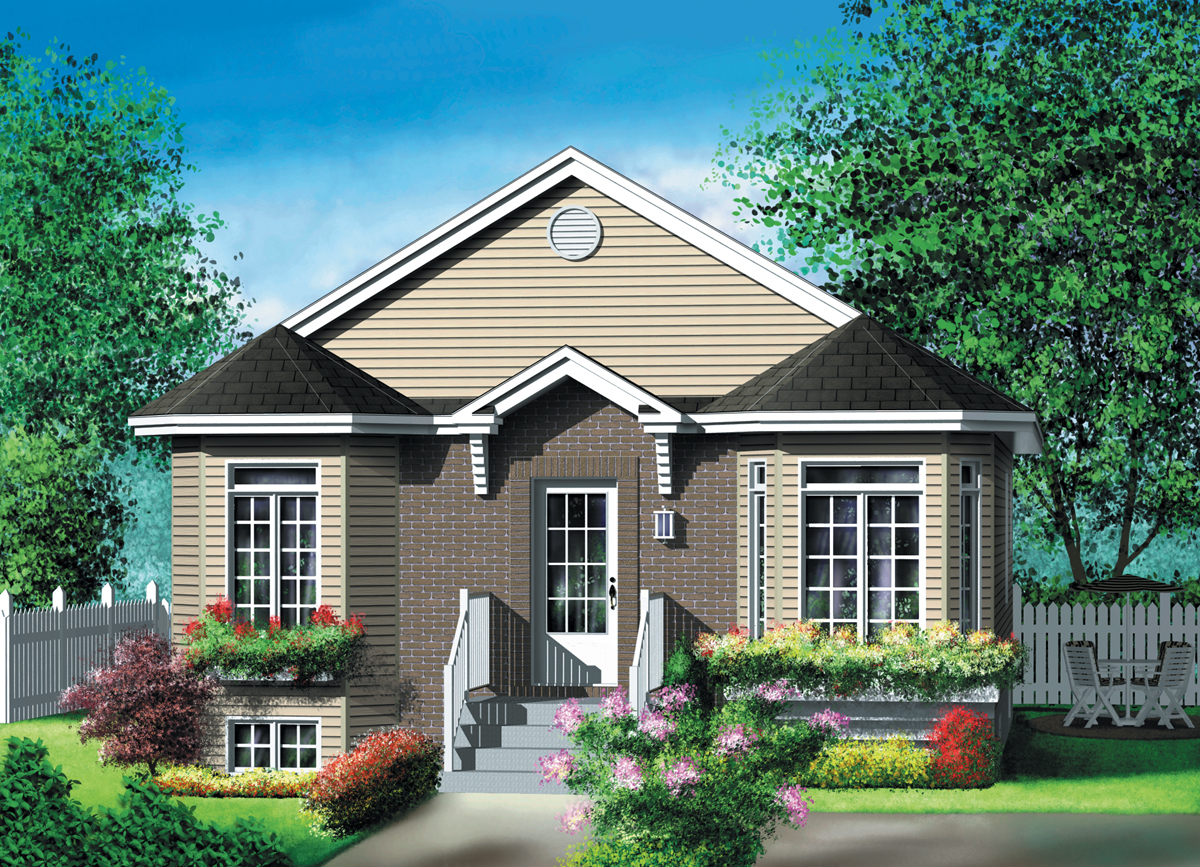 Traditional House Plan With Virtual Tour 80013pm