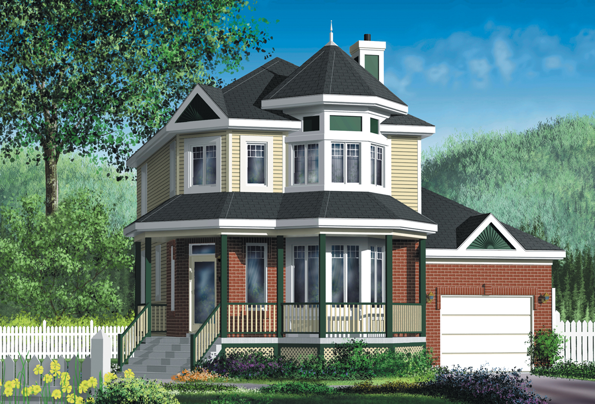 Country house plan with virtual tour 80040pm 2nd floor for 3d virtual tour house plans