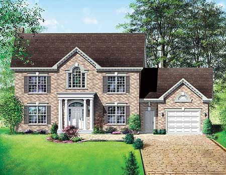 Traditional house plan with virtual tour 80119pm 2nd for Virtual tour of house plans