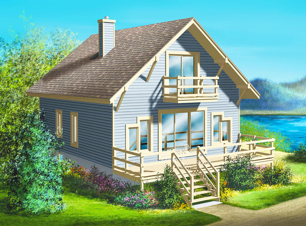 Simple getaway 80168pm architectural designs house plans for Architecturaldesigns com house plan 56364sm asp