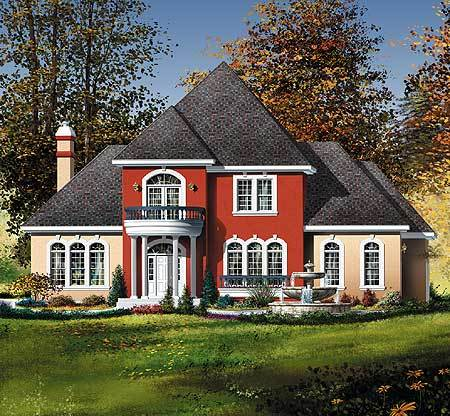 Traditional southern home plan with virtual tour 80175pm for Traditional southern house plans