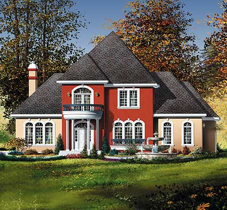 Traditional southern home plan with virtual tour 80175pm for Virtual home plans