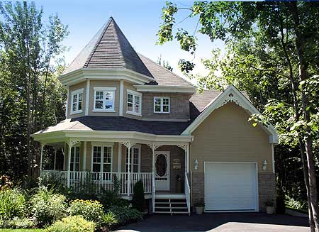 Victorian Charmer with Attached Garage - 80240PM | Architectural ...