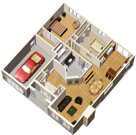 Stone bungalow house plan 80314pm architectural for 1200 sq ft bungalow floor plans