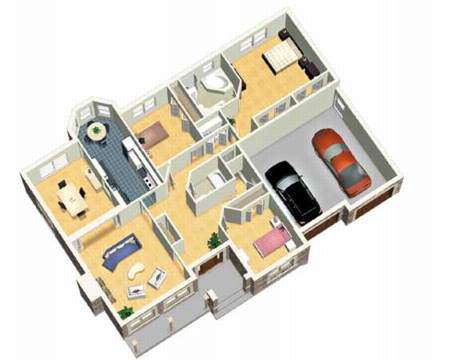One Story European Home - 80315PM | Architectural Designs - House Plans
