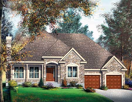 One story european home 80315pm architectural designs for European house plans one story