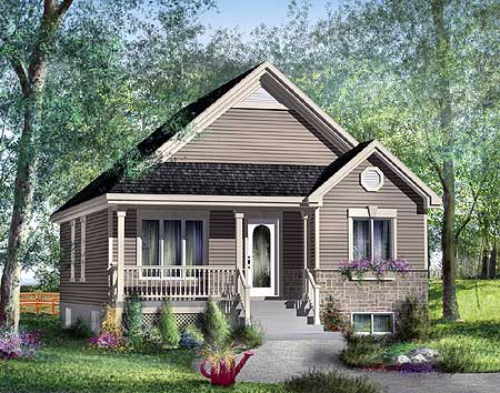 Stone cottage house plan 80336pm 1st floor master for Canadian country house plans