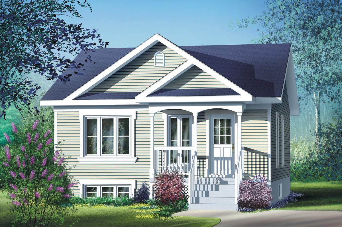 Split level house plan with virtual tour 80355pm for House plans virtual tour
