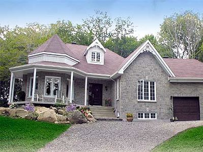 Country Victorian Home Plan - 80360PM thumb - 02