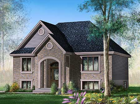 Canadian bi level home plans home design and style for Bi level home designs