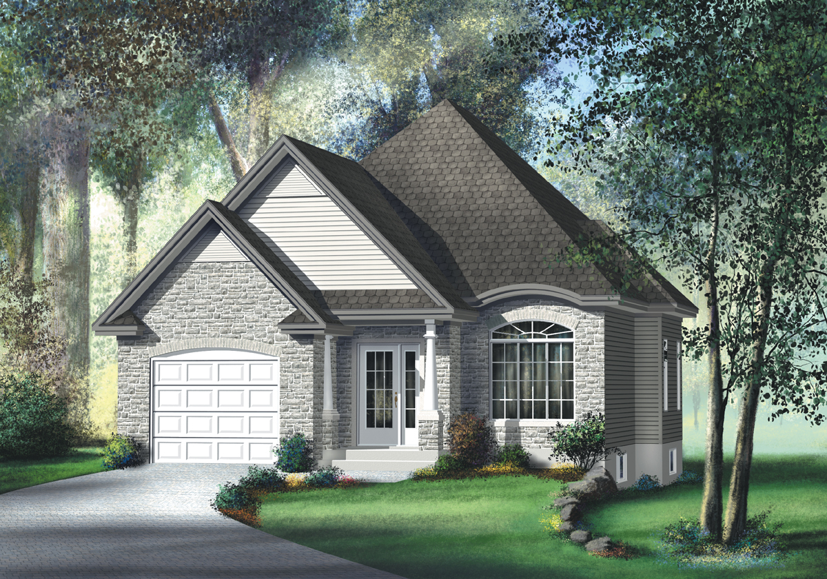 Traditional Southern Home Plan 80368pm Architectural