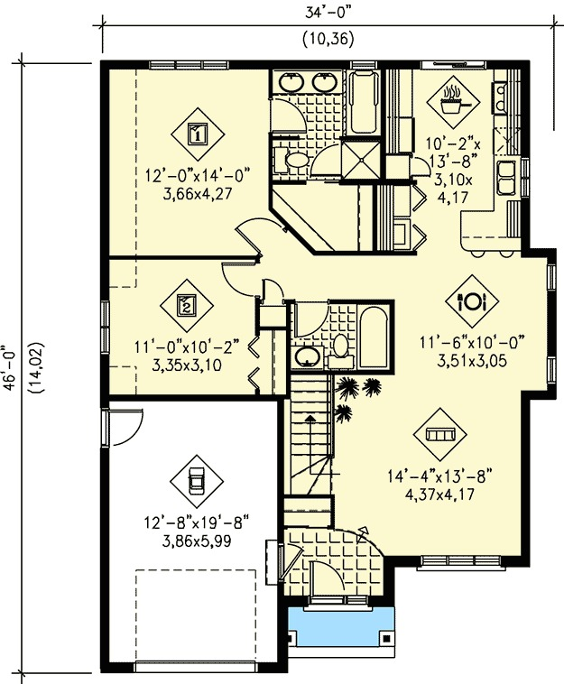 Architectural designs for Traditional southern house plans