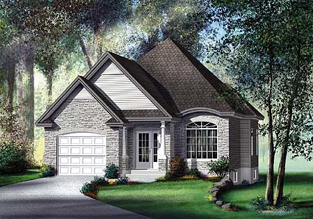 Traditional Southern Home Plan 80368PM Southern
