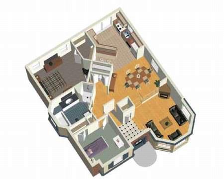 Delight Split Level Cottage - 80370PM floor plan - Main Level