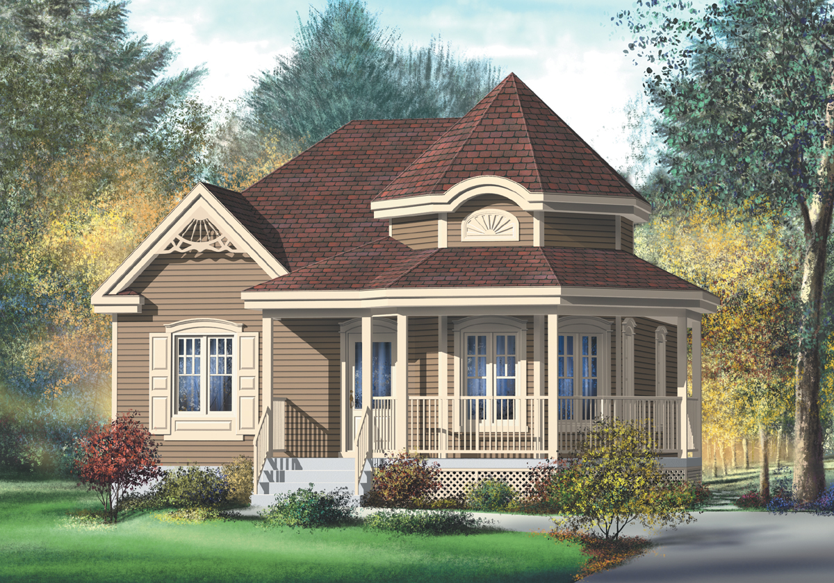 Country Style House Plan 80377pm Country Victorian