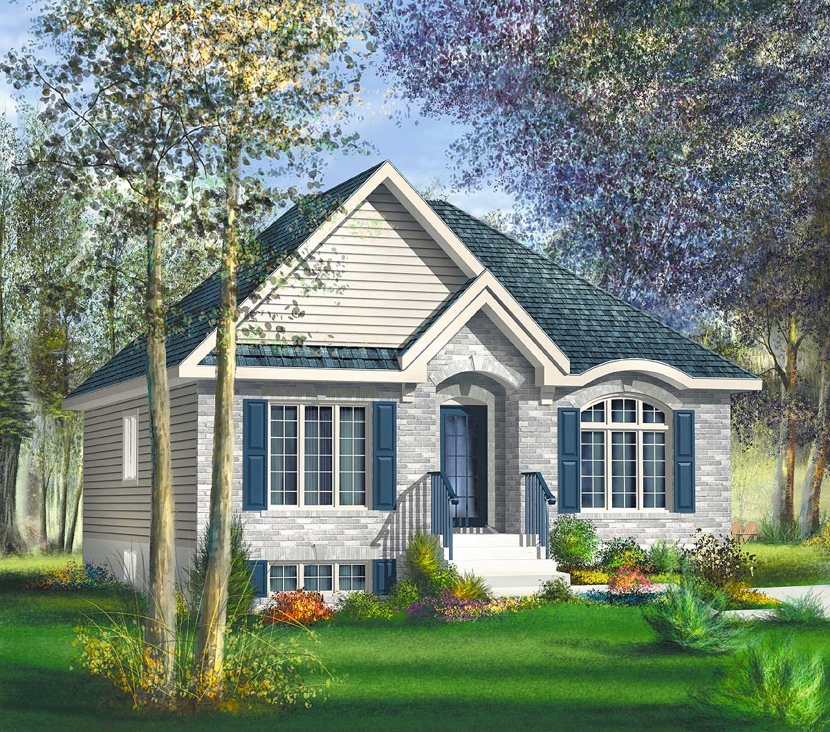 Cozy bungalow cottage 80401pm architectural designs for Cozy cottage home designs