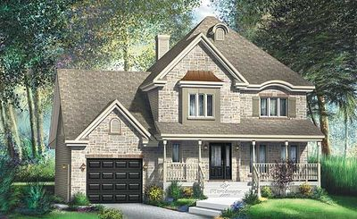 Traditional Two Story House Plan Pm Thumb
