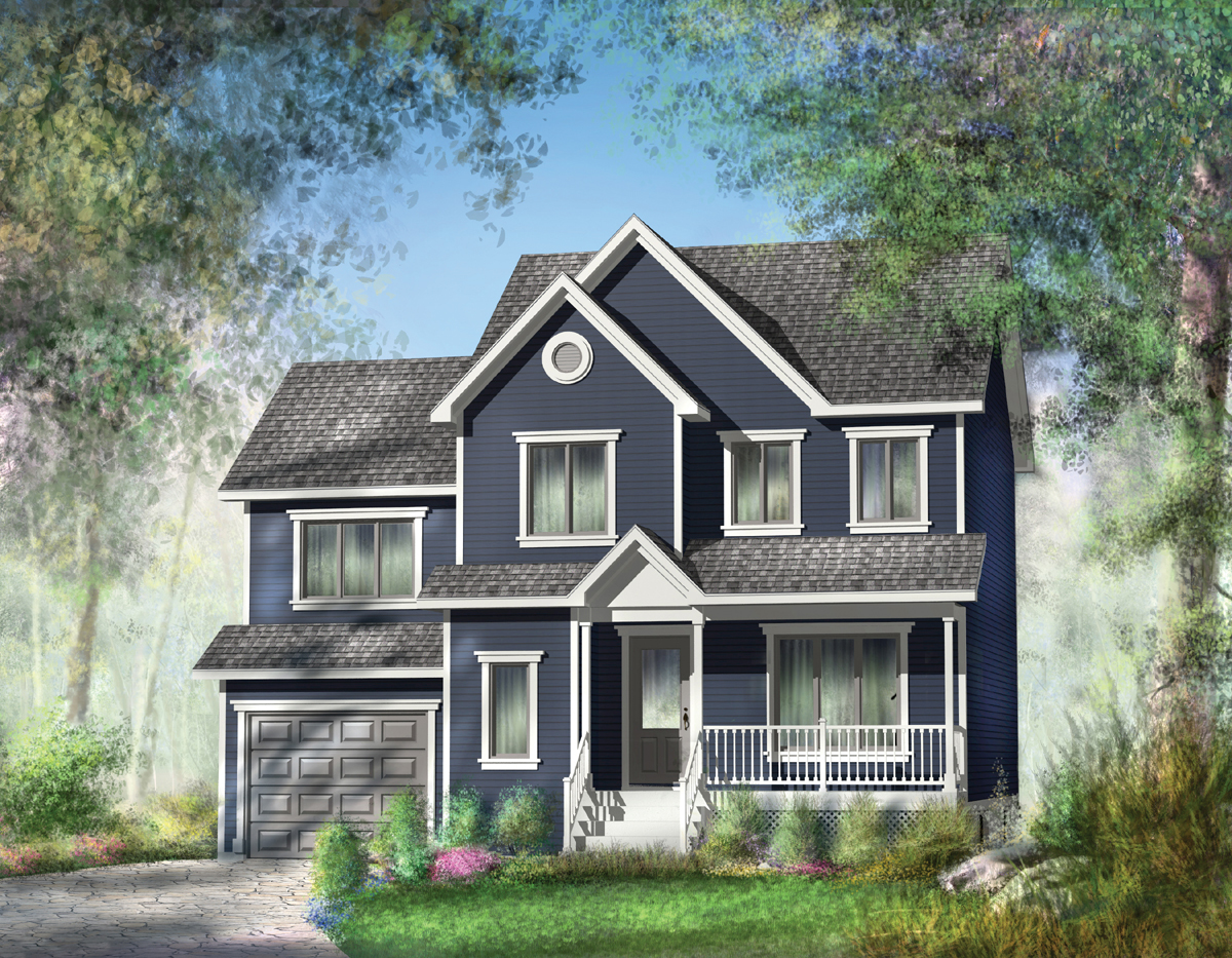 Spacious Country Home Plan 80517pm 2nd Floor Master