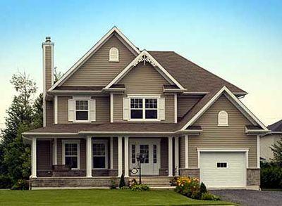 Lovely corner veranda 80538pm architectural designs for Canada house