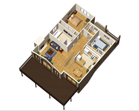 Superbe Cozy Cottage House Plan   80553PM Floor Plan   Main Level